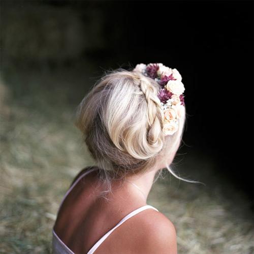 11 kiểu tóc đơn giản và tuyệt đẹp cho cô dâu - 2