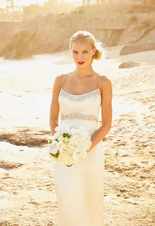 11 kiểu tóc đơn giản và tuyệt đẹp cho cô dâu - 3