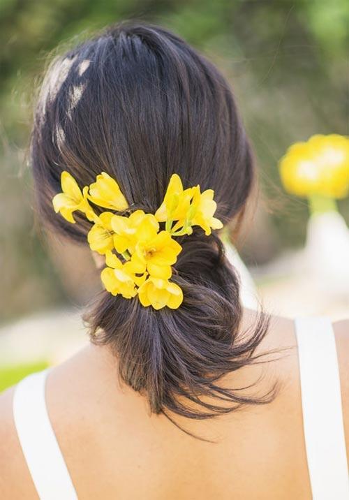 11 kiểu tóc đơn giản và tuyệt đẹp cho cô dâu - 4