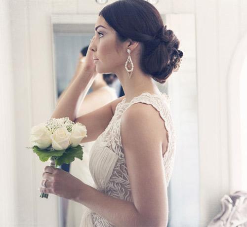 11 kiểu tóc đơn giản và tuyệt đẹp cho cô dâu - 10