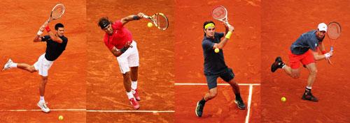 Roland Garros: Djokovic chung nhánh Federer, Serena sớm gặp Sharapova - 1