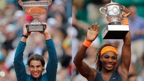 Roland Garros: Djokovic chung nhánh Federer, Serena sớm gặp Sharapova - 2