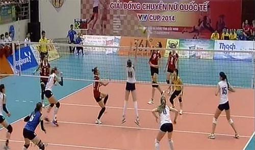 """ĐT Việt Nam """"thần tốc"""" vào chung kết VTV Cup - 1"""