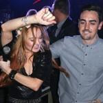Phim - Lindsay Lohan dẫn em trai ăn chơi ở Cannes