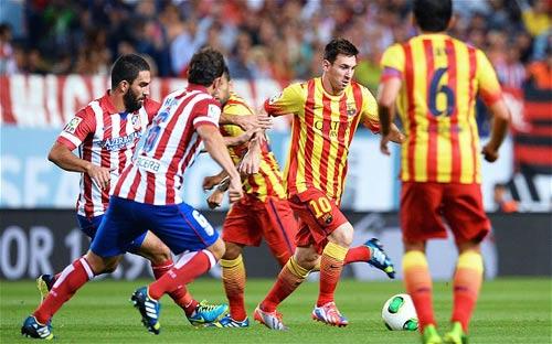 Atletico: Chặn Ronaldo khó hơn vô hiệu hóa Messi - 1