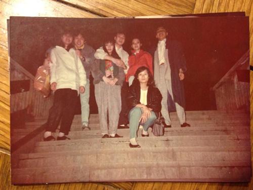 Nhạc sỹ Quốc Trung khoe ảnh thời trai trẻ - 4