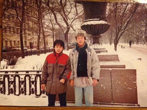 Nhạc sỹ Quốc Trung khoe ảnh thời trai trẻ - 7