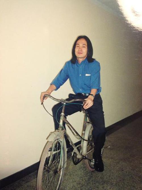 Nhạc sỹ Quốc Trung khoe ảnh thời trai trẻ - 1