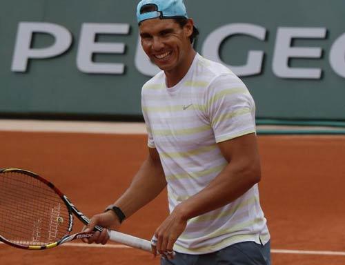 Nadal bình thản, Federer tự tin về nhánh đấu - 1