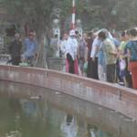 Tin tức trong ngày - HN: Hoảng hốt phát hiện xác chết nổi trên mặt hồ