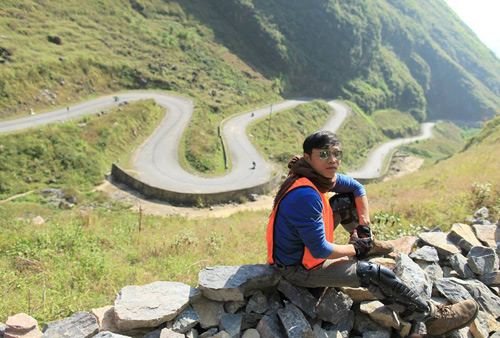 Chàng trai Hà Thành và hành trình đi bộ xuyên Việt