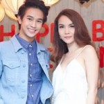 """Yến Trang diện  """" cây trắng """"  bên hot boy Thái Lan"""