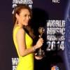 Mỹ Tâm bất ngờ nhận giải âm nhạc quốc tế