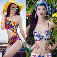 Hồng Quế uốn lượn quyến rũ với bikini