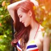 Hot girl Kelly Nguyễn gợi cảm với bikini
