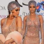 Thời trang - Rihanna để lộ 90% cơ thể trên thảm đỏ