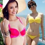 Thời trang - Học sao Việt chọn bikini hợp mốt mùa hè