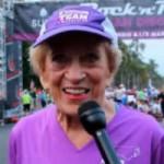 Thể thao - Cụ bà 91 tuổi phá kỷ lục marathon