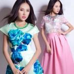 Thời trang - Thiếu nữ Sài thành xinh xắn với váy hoa mùa hè