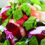 Ẩm thực - Salad thanh long ruột đỏ món ăn hấp dẫn mùa hè