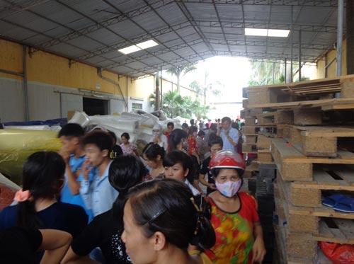Cháy lớn ở Bắc Giang, hơn 1.000 công nhân tháo chạy - 5