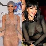 """Thời trang - Bị chê vì """"thả rông"""",Rihanna ra đòn đáp trả"""
