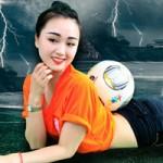 Bạn trẻ - Cuộc sống - Thiếu nữ Việt chào đón mùa World Cup 2014