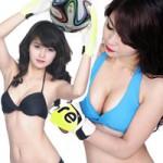"""Thời trang - Bạn gái Việt """"bốc lửa"""" đón chào World Cup 2014"""