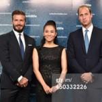 Ca nhạc - MTV - Thu Minh gặp Hoàng tử William và David Beckham