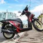 Ô tô - Xe máy - Honda SH 2012 độ dàn vỏ đỏ - đen cá tính