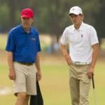 Thể thao - Golf, US Open: Tỷ phú công nghệ McNealy làm caddie