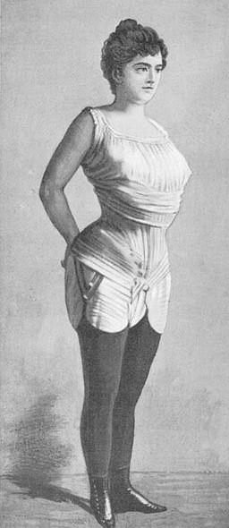 Kinh ngạc với vòng eo siêu nhỏ của phụ nữ xưa - 7