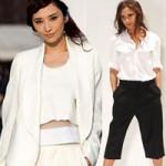 Thời trang - Lưu ý khi mặc quần lửng ống rộng