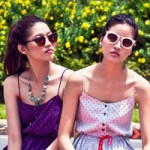 Thời trang - Đẹp lạ với váy áo họa tiết mũi neo