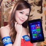 Thời trang Hi-tech - Mỹ nữ ngọt ngào bên máy tính bảng cỡ nhỏ