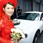 Hot: Bentley 11 tỷ rước Trà My Idol về nhà chồng