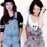Thời trang - Đa phong cách với quần yếm