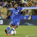 Bóng đá - Pirlo hụt siêu phẩm đá phạt trước ĐT Anh