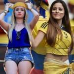 Thời trang - Bóng hồng rực lửa trên khán đài World Cup