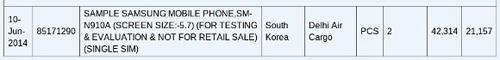 Xác nhận Galaxy Note 4 màn hình 5.7 inch QHD - 2