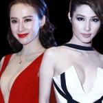 """Váy - Đầm - Phương Trinh, Diễm My khoe ngực """"bạo"""" nhất tuần"""