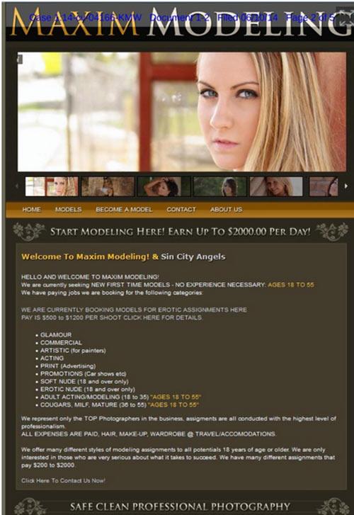 Công ty người mẫu bị kiện vì ăn cắp và khiêu dâm - 2