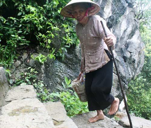 Cụ bà hơn 30 năm trông mộ Vua trên đỉnh Mã Yên Sơn - 1