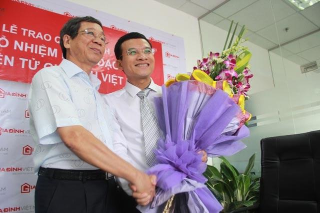 Bổ nhiệm Quyền Tổng biên tập Báo điện tử Gia đình Việt Nam - 1