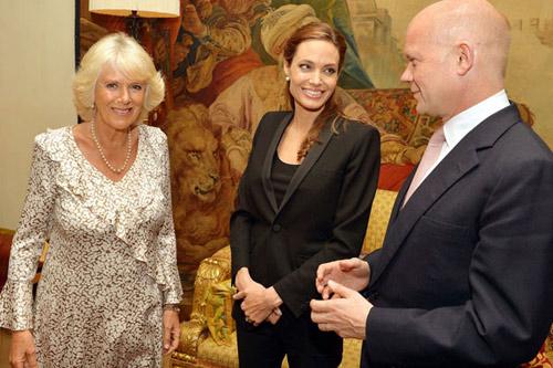 Angelina Jolie được Hoàng gia Anh phong tước hiệp sỹ - 1