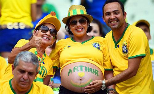 Mỹ nhân đua sắc trận Brazil & Mexico - 6