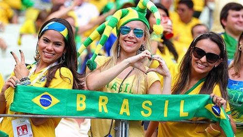 Mỹ nhân đua sắc trận Brazil & Mexico - 5