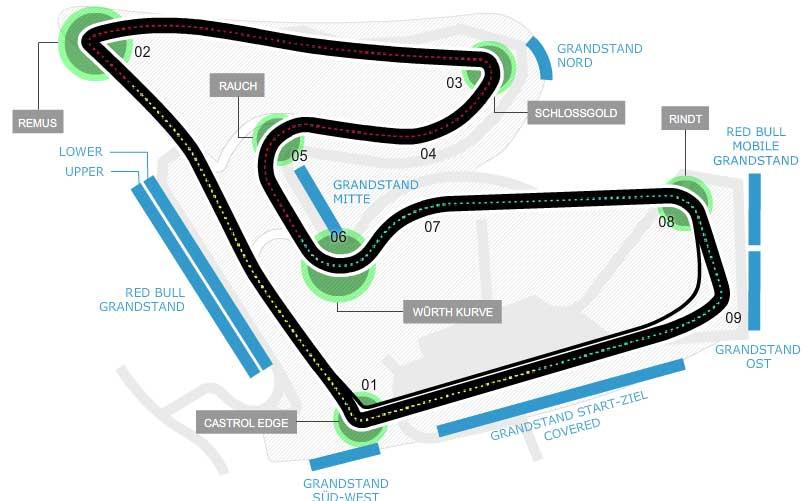 Lịch thi đấu F1: Austria GP 2014 - 1