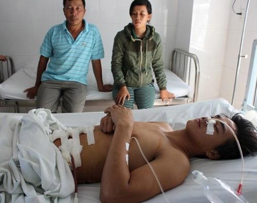 Cảnh sát hình sự bắn trọng thương một thanh niên - 1