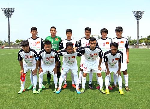 U19 Việt Nam lại thua tan nát ở Nhật Bản - 1
